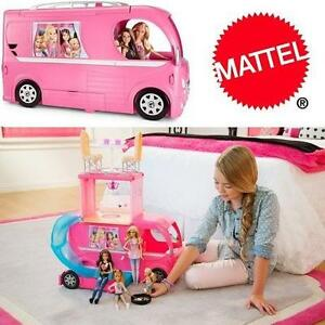 NEW MATTEL BARBIE POP-UP CAMPER 109389789