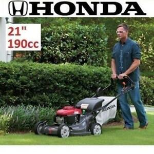 "NEW* HONDA SELF PROPELLED LAWNMOWER HRX217HZA 195222607 LAWN MOWER ELECTRIC START GAS WALK VARIABLE SPEED 21"" 190CC"