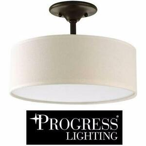 "NEW PROGRESS LIGHTING INSPIRE COLLECTION FIXTURE LIGHT FIXTURE 13"" x 10 3/8"" - LIGHTING - HOME  83315875"