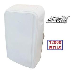 NEW* AK 12000 BTU AIR CONDITIONER - 120735869 - ARCTIC KING PORTABLE AC FAN  DEHUMIDIFIER REMOTE A/C HEATING COOLING ...