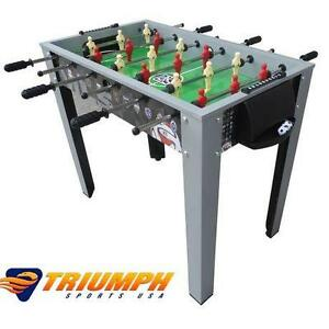 """NEW TRIUMPH 40"""" FOOSBALL TABLE MLS GAME ROOM TABLE RECREATION GAMES TABLES SOCCER TEAM SPORTS 108873196"""