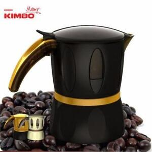 NEW, Kimbo Coffee Maker Mamy Moka Pot for Microwave Espresso Latte Made in Italy