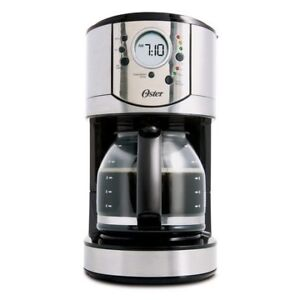 Oster 12-Cup Stainless Steel Programmable Coffee Maker