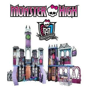 NEW MATTEL MONSTER HIGH PLAY SET MONSTER HIGH DELUXE HIGH SCHOOL - TOYS GAMES DOLL DOLLHOUSE  90312723