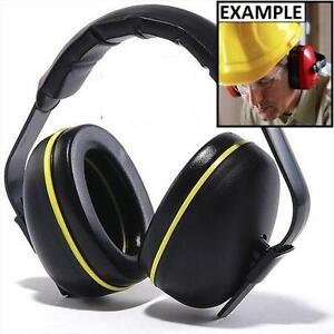 NEW CONDOR PROTECTIVE EAR MUFFS BLACK/YELLOW - WORK SAFETY 102492056