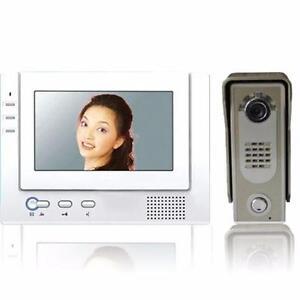 INTERCOM SYSTEM WITH WATERPROOF OUTDOOR STATION FOR VIDEO DOOR PHONE