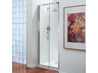 New in box Coram - Premier Pivot Shower Door - 800mm