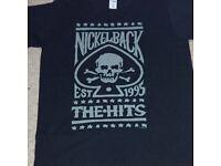 Mens nickelback tour t. Shirt