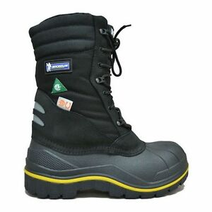 """Michelin 13 Timmons Mens' 12"""" Safety Weather Boots"""