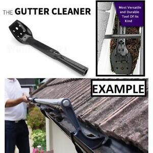 NEW GUTTER CLEANER TOOL 184703515 THE GUTTER CLEANER ROOF VALLEY SHRUBS TREES CARPORTS