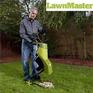 NEW LAWNMASTER CHIPPER/SHREDDER   15 AMP - ELECTRIC - TOOLS OUTDOORS LEAVES YARD LEAF BLOWER LAWNMOWERS 91867829