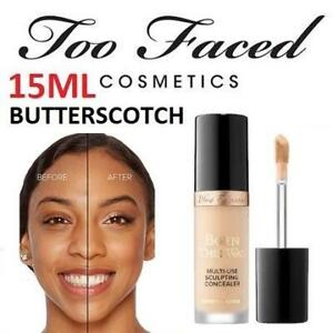 NEW TOO FACED MULTI-USE CONCEALER 1288 240035812 BUTTERSCOTCH 15ML BORN THIS WAY SUPER COVERAGE SCULPTING MAKEUP BEAU...