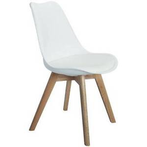 2 x Eames DSW Cross Dining Chair (Black, White or Gray) Hornsby Hornsby Area Preview
