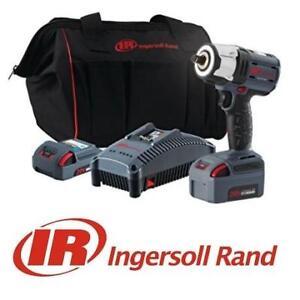 """NEW INGERSOLL RAND IMPACT TOOL KIT W5152-K22 143029292 1QV20 SERIES 1/2"""" TOOLS"""