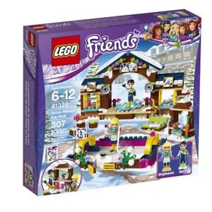 BRAND NEW LEGO LEGO Friends - Snow Resort Ice Rink (41322)
