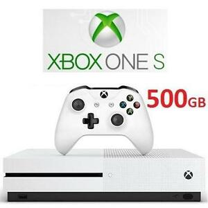 REFURB XBOX ONE S 500GB CONSOLE - 106803206 - MICROSOFT - VIDEO GAMES - ELECTRONICS