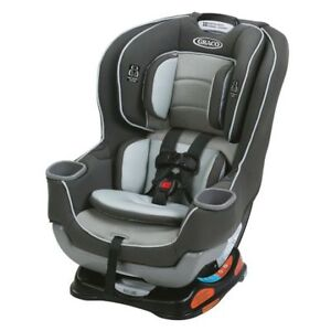Baby car seat - Graco Extend2Fit Convertible infant Seat, Valor