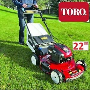 "NEW* TORO GAS LAWN MOWER 22"" 20333 186910783 PERSONAL PACE SELF PROELLED BLADE OVERIDE"