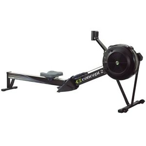 CONCEPT II CONCEPT 2 Model D with PM5 Rower - Black COIIDPM5BLK