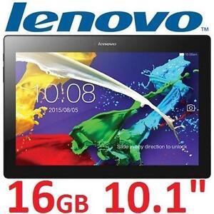 "REFURB LENOVO T2 16GB TABLET 10.1"" ELECTRONICS - BLACK/NAVY BLUE - ANDROID - QUAD CORE - TAB 2 99582365"