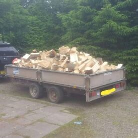Ifor williams 12x6 flatbed trailer with ramps 3500kg