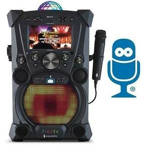 USED* SM FIESTA KARAOKE SYSTEM SINGING MACHINE - ELECTRONICS - MUSIC AUDIO SPEAKERS ENTERTAINMENT 107323007