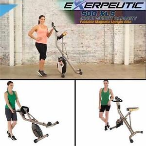 NEW EXERPEUTIC GOLD UPRIGHT BIKE 500 XLS GOLD EXERCISE EQUIPMENT MACHINE BIKES CARDIO WORKOUT FITNESS TRAINING  83998174