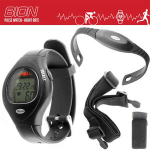 Bion A110 Heartrate Watch and Chest Strap HRBN11O
