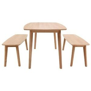 3 piece oak dining room set (Freedom)