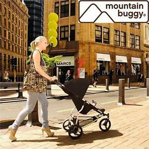 NEW MOUNTAIN BUGGY COMPACT STROLLER MOUNTAIN BUGGY MINI STROLLER AND CAR SEAT ADAPTER SET SUN AND STORM COVERS 77581904