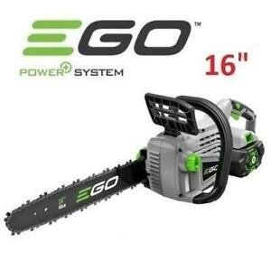 NEW EGO 16 56V CORDLESS CHAINSAW CS1604 256258867 W/ BATTERY AND CHARGER