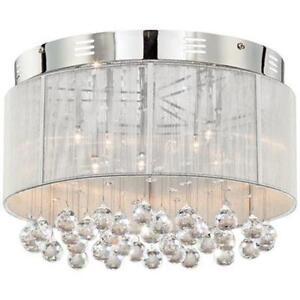 Drum shade light ebay drum shade ceiling light aloadofball Gallery