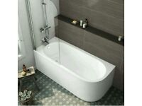Curved bath panel, free to collect