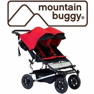 NEW MB DUET DOUBLE STROLLER   Mountain Buggy Duet Double Stroller BABY BABIES CARRIER TRAVEL GEAR 98036491