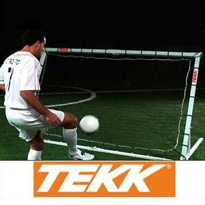 NEW TEKK ATHLETIC PORTABLE SPORTS TRAINER Aircraft Grade Aluminum Frame REBOUNDER TRAINING SOCCER BASKETBALL BALL SPORTS