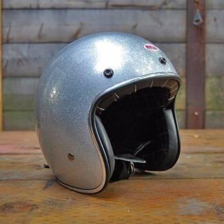 Bell custom 500 open face helmet Summer Hill Ashfield Area Preview