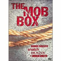 MOB BOX DVD set NEW Donnie Brasco Snatch Bugsy American Gangster