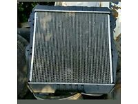 Toyota hilux surf 2.4 LN130 radiator in very good condition only few weeks old