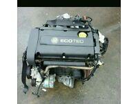 Vauxhall zafira b astra h 1.6 z16xep engine done 77k