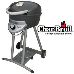NEW CHAR-BROIL BISTRO GAS GRILL 13,000 BTUS BBQ BARBECUE Outdoor Living BBQs Portable