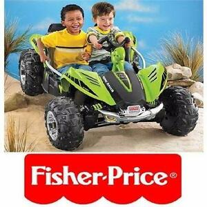 NEW* FISHER PRICE DUNE RACER KIDS - RIDE ON - POWER WHEELS - TOYS - OUTDOOR PLAY RIDE-ON KID'S TOY PLAY OUTDOOR 96857651