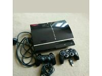 Sony PlayStation 3 60 GB Charcoal Black Console - With 11 Games!!!