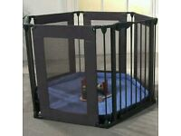 Lindam playpen/ safety gate/ fire guard