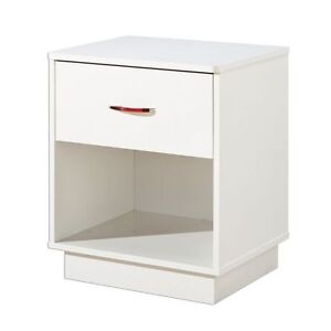 South Shore Logik 1-Drawer Night Stand, Side Stand