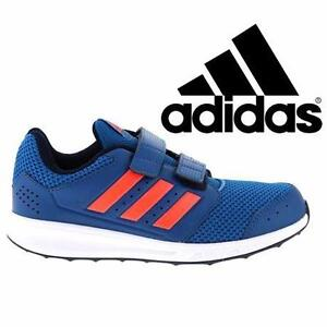 NEW ADIDAS SHOES KIDS' 12K   KIDS' 12 K - UNITY BLUE SOLAR RED 85202385