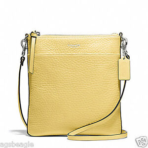 Coach-Bag-F51629-Swingpack-Bleecker-Pebbled-Leather-North-South-Pale-Lemon-COD