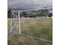 Full size Goal Nets by Diamond plus accessory's and Brand new Padded Goalkeeper Bottoms