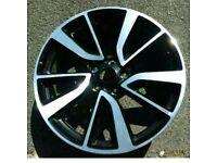 Nissan tekna alloys 19 inch also fit Qashqai,Juke, Renault Kadjar