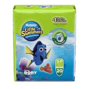 Huggies Little Swimmers Swim Pants Diapers - NEW 20-pack, size S