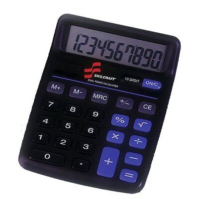 SKILCRAFT - 7420-01-484-4580 - 10-Digit Calculator